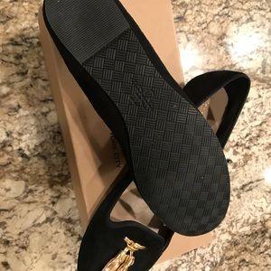 735ffb07e7b Cole Haan Shoes - Cole Haan Morgan Tassel II Black Suede Loafers